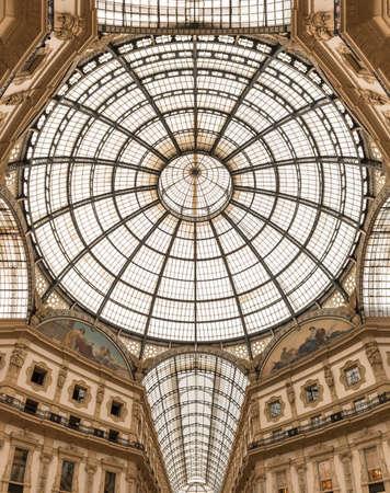 vittorio emanuele: Vittorio Emanuele II gallery in Milan