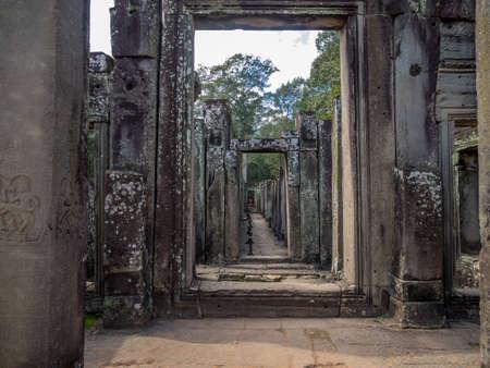 Doorway to history Imagens