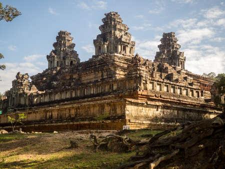 Cambodjaanse tempel Stockfoto