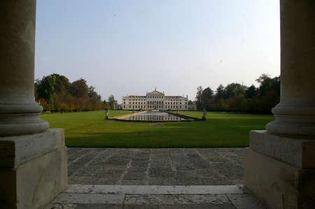 Villa Pisani Reklamní fotografie
