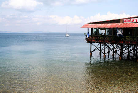 Italian restaurant with seaview