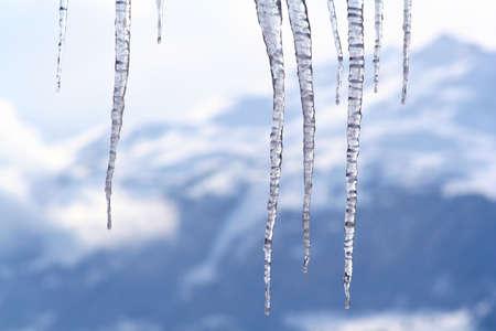 melting icicles