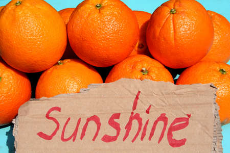 sunny fruit Stock Photo