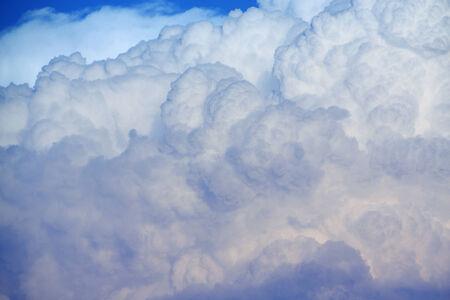 close up of cumulus cloud Stock Photo