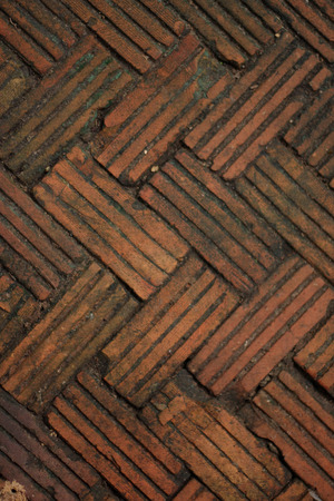 pattern of brick floor, texture background photo