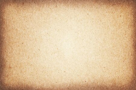 envelope: Vintage paper textures, grungy old brown cardboard for background. Stock Photo