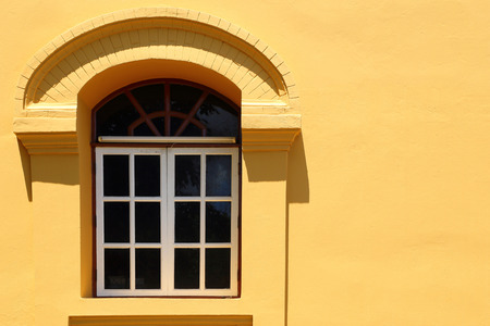 parget: window on wall