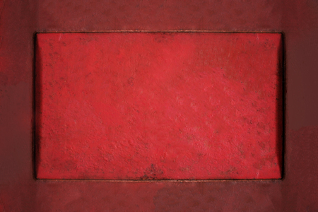 grungy: Vintage background of red grungy texture. Stock Photo