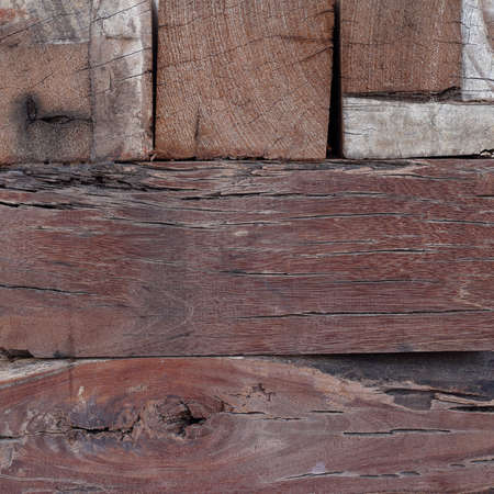 square image: Wooden texture for background, square image. Stock Photo