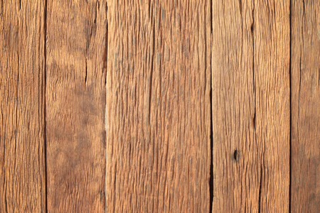 Old and grungy wood plank for background. Stock Photo