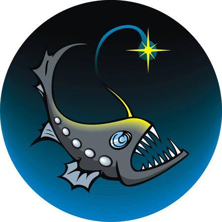 Deep-sea angler Stock Vector - 3810868