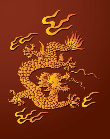 seigneur: Traditional Chinese dragon, seigneur de l'air et l'eau