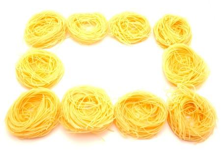 Macaroni on a white background Stock Photo - 7727157