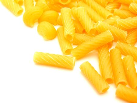 Macaroni on a white background  Stock Photo - 7727055