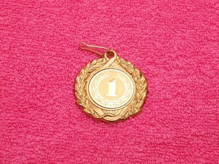 Medal on a fabric Stock Photo - 7727539