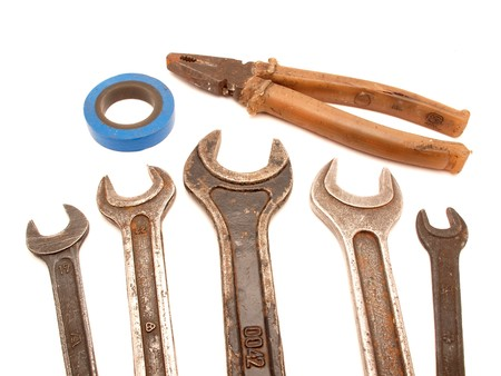 The tool on a white background Stock Photo - 7727816