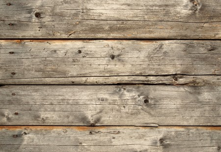 weathered: Pattern of old weathered timbered wall                  Stock Photo