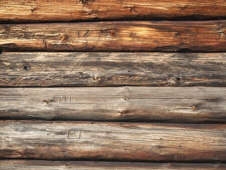 barn wood: Pattern of old weathered timbered wall