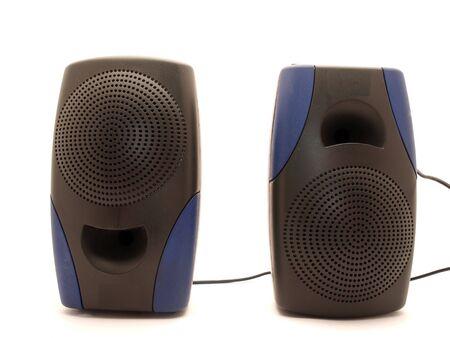 Audio dynamics on a white background          photo