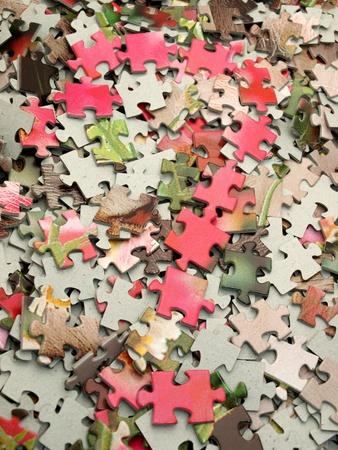 Puzzle pieces           免版税图像