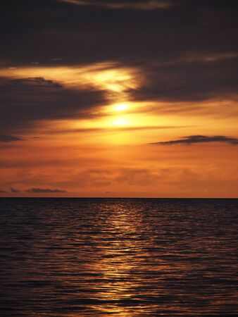 sunset and sea Stock Photo - 10486263
