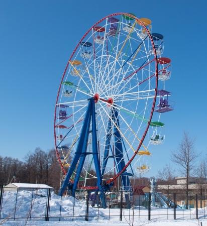 fair play: Attraction Ferris wheel