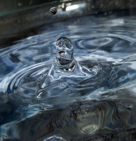drop of rain water photo