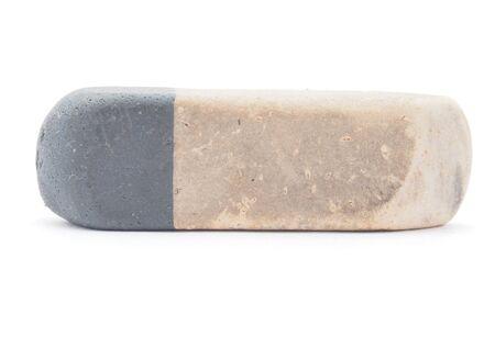 eraser on a white background photo