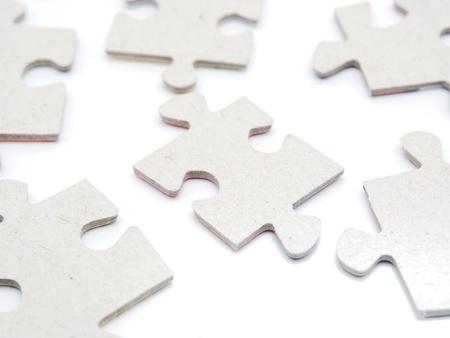 Puzzleteile Standard-Bild - 14805014