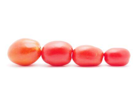 tomato on a white background photo