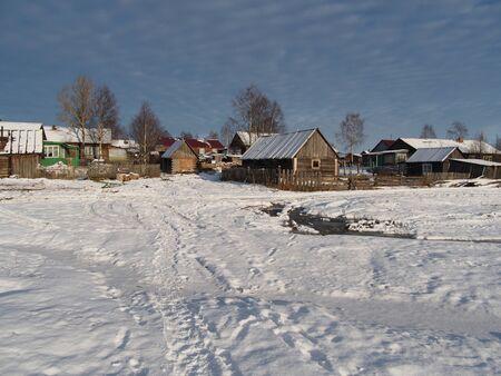 winter village  photo