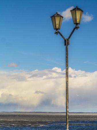 friedrichshafen: lantern on the lake