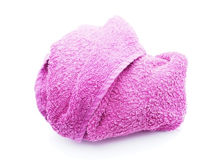 absorb: Towel on a white background