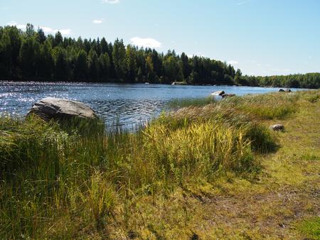 landscaping riverside: riverside
