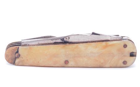 penknife: temperino isolato su sfondo bianco