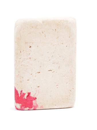 blunder: eraser on a white background
