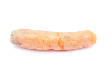 unpeeled: unpeeled carrots on a white background