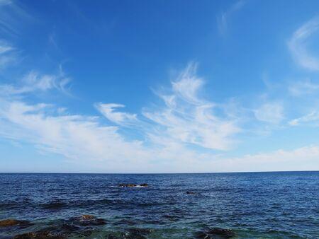 'black sea': the Black Sea coast Stock Photo