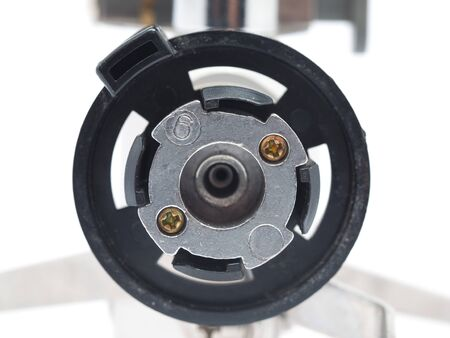primus: connector for the gas cylinder on a white background