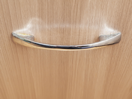 drawer: handle on the drawer Stock Photo