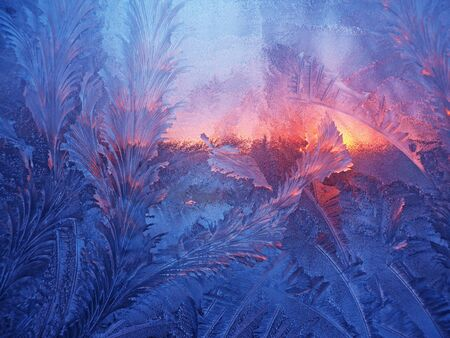 frosted window: frosting