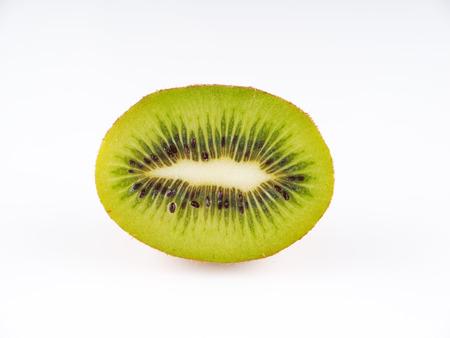 Kiwi on a gray background
