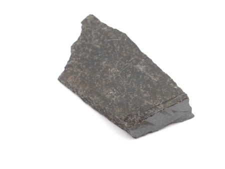 Gabbro Diabase On A White Background Stock Photo, Picture And ...