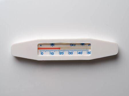 rectal: thermometer on a gray background