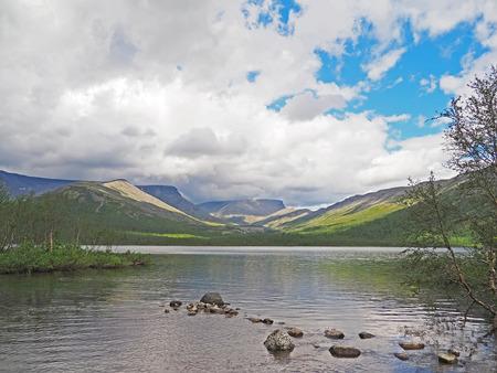 malaya: Lake in the Hibiny