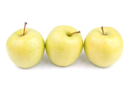 jhy: apples on a white background
