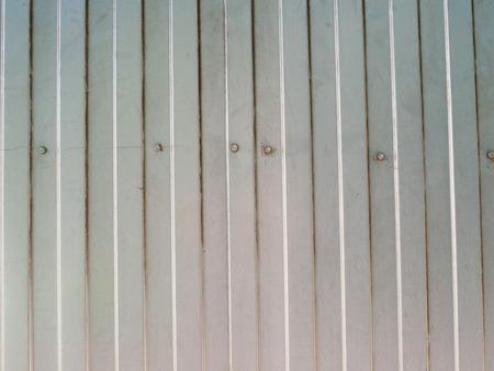 sheeting: metal siding. Background Stock Photo