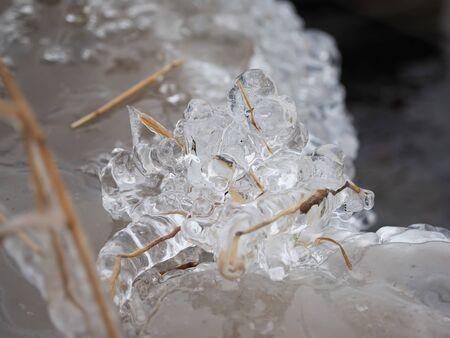 baical: ice on the lake