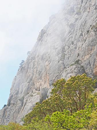 mountains in Crimea Stock Photo