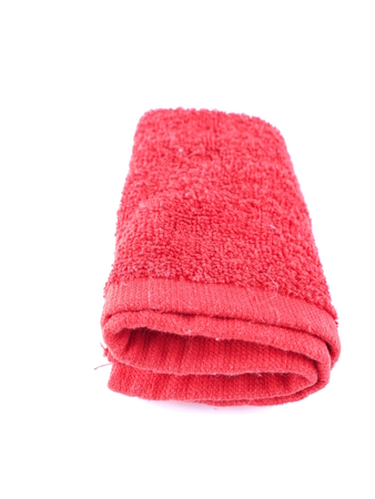 absorb: red towel